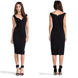 Black Halo Ally Sheath black Dress